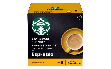 Kapsle pro espressa Starbucks BLONDE ESPRESSO ROAST 12Caps