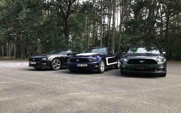 Ford Mustang kabriolet na den4