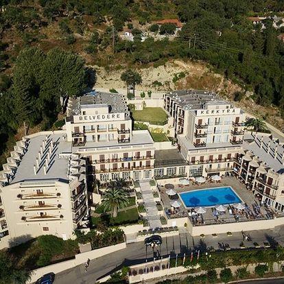 Řecko - Korfu na 8 dní, all inclusive s dopravou letecky z Prahy nebo Brna