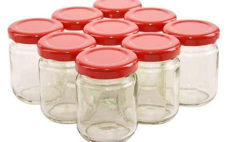 Orion zavařovací sklenice s víčkem 9 x 60 ml
