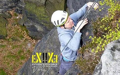 Celodenní lezecký kurz v Labských pískovcích pro 1-3 osoby