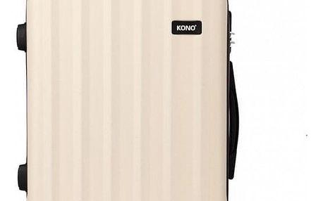 Cestovní velký béžový kufr Trip 1773