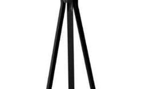 5five Simple Smart Stojan, věšák na bundy, stojan na kabáty TREE, černý stojan, výška 180 cm