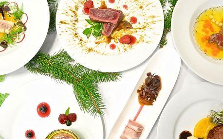 Z našich lesů, vod a polí: 6chodové degustační menu