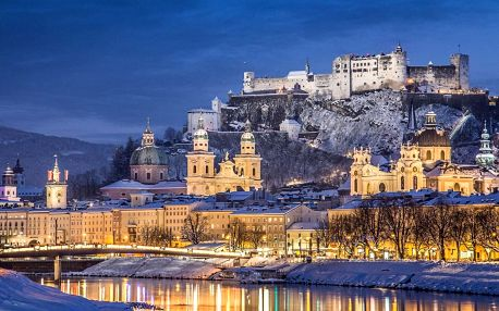 Adventní Salzburg s průvodcem, prohlídkou města a adventními trhy
