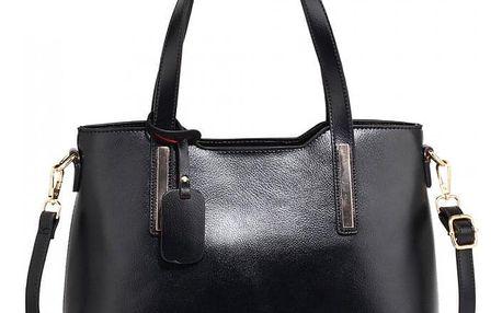 Dámská černá kabelka Lisa 528