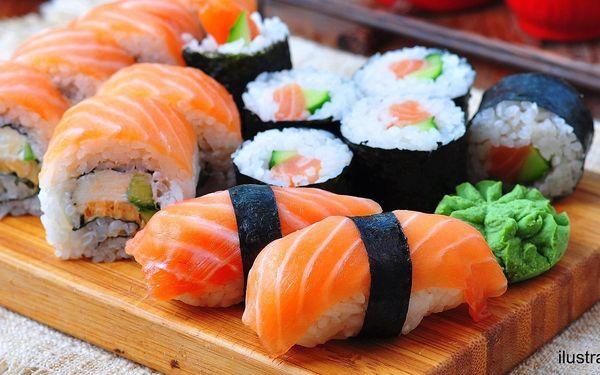 Sety sushi: tuňák, losos, krevety a další dobroty