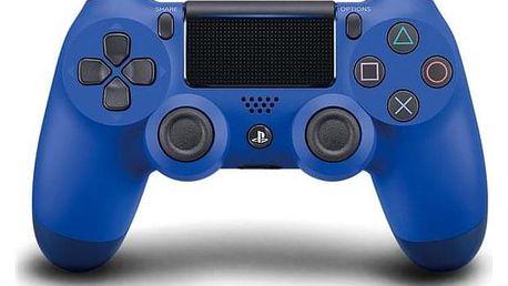 Sony Dual Shock 4 pro PS4 v2 modrý (PS719893950)