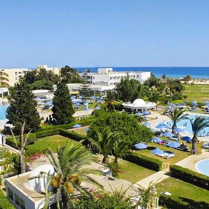 Tunisko - Hammamet na 15 dní, all inclusive s dopravou letecky z Prahy, přímo na pláži