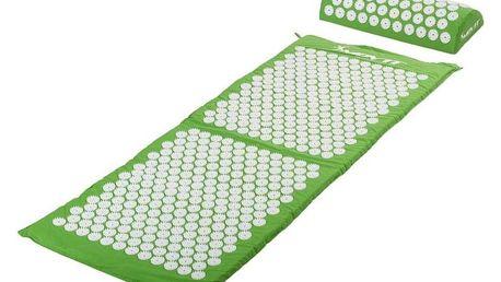 Movit akupresurní podložka s polštářem 130 x 50 cm zelená