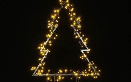 Nexos 57378 Vánoční LED dekorace - STROM - 175 LED 75 cm