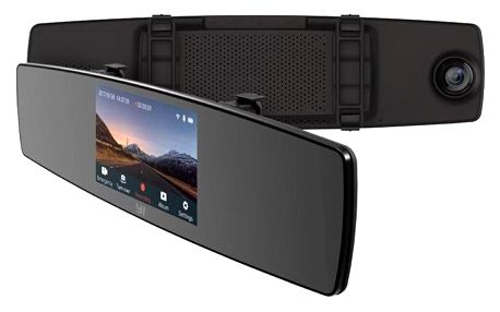 YI Technology YI Mirror Dash Camera černá