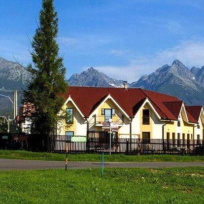 Pobyt pro dva: snídaně, slevy i výhled na Tatry