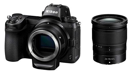 Nikon Z6 + 24-70 + adaptér bajonetu FTZ KIT černý (VOA020K003)