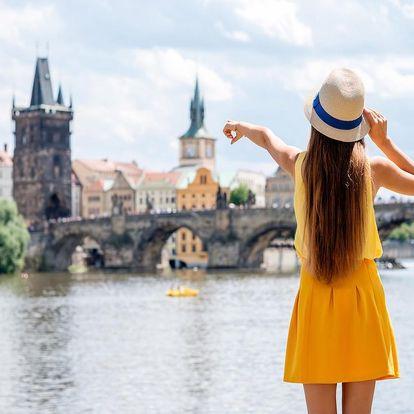 Nezapomenutelný pobyt v Praze v nádherném secesním hotelu