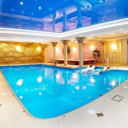 Kudowa-Zdrój, elegantní hotel Adam SPA*** v polském lázeňském městě u hranic s wellness