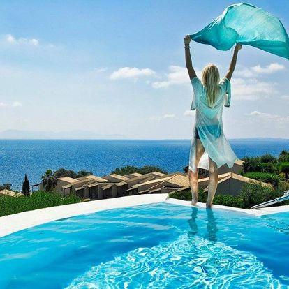 Řecko - Korfu letecky na 8-9 dnů