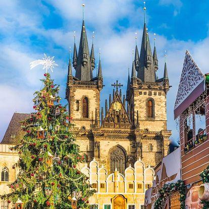 Zimní Praha v nádherném secesním hotelu