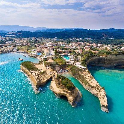 Řecko - Korfu autobusem na 13-15 dnů