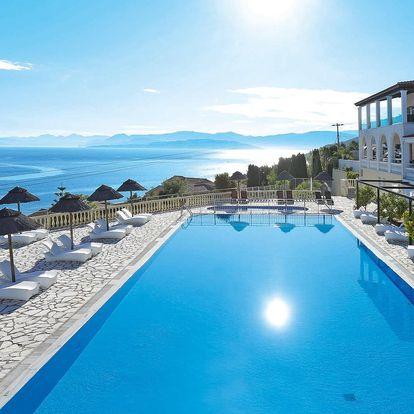 Řecko - Korfu letecky na 8-9 dnů, polopenze