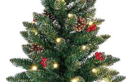 Nexos 65866 Vánoční stromek s osvětlením - 60 cm, 30 LED