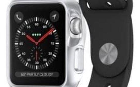 Pouzdro na hodinky SPIGEN Slim Armor Silver (38 mm)