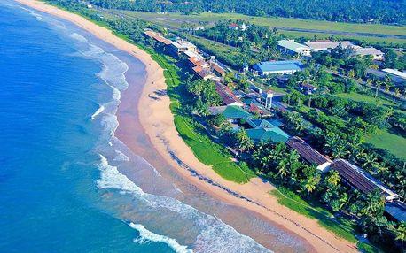 Srí Lanka - Koggala letecky na 10 dnů, snídaně v ceně