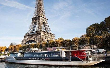 Francie - Paříž letecky na 3 dny, snídaně v ceně