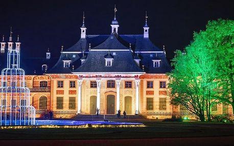 Adventní Drážďany a kouzelné zahrady zámku Pillnitz