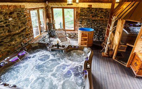 Luxusní wellness chata v Beskydech pro až 8 lidí