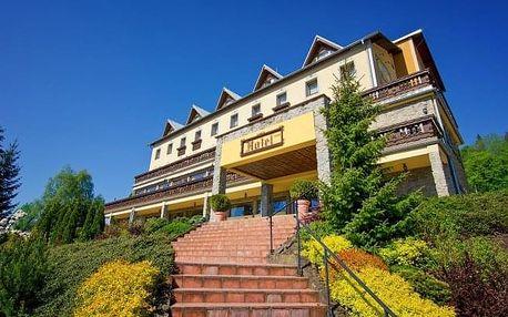Kysucké Beskydy pro gurmány: Hotel Husárik **** s neomezeným jeskynním bazénem