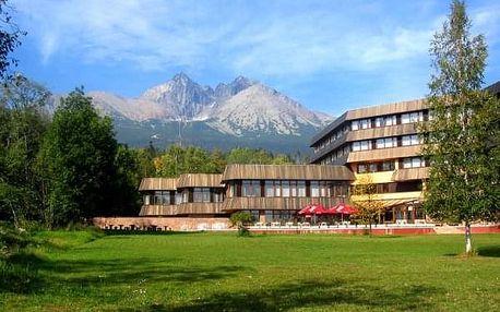Tatranská Lomnica na 3 dny, polopenze