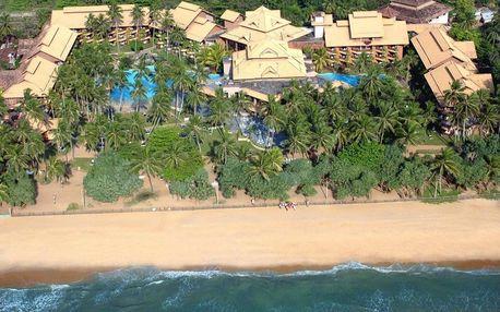 Srí Lanka - Kalutara letecky na 10 dnů, snídaně v ceně