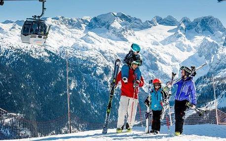 Rakouské Alpy u skiareálu: Sporthotel Dachstein West *** s polopenzí a wellness