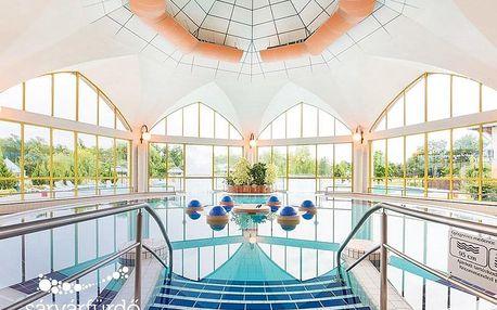 Sárvár v zámeckém hotelu s celodenním vstupem do lázní a polopenzí + platnost až do května 2020