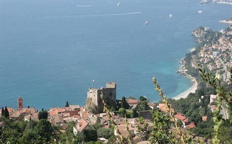 Francie - Azurové pobřeží (Francouzská riviéra) na 8 dní, bez stravy, Azurové pobřeží (Francouzská riviéra)