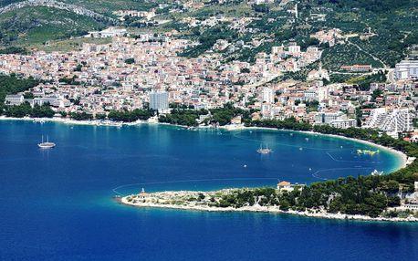Chorvatsko - Makarská riviéra na 7 až 10 dní, polopenze nebo snídaně s dopravou autobusem nebo letecky z Ostravy, Makarská riviéra