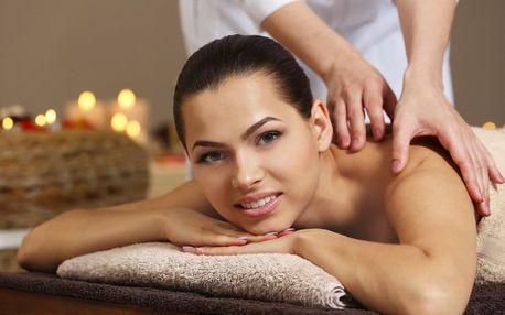 110 minut relaxace s luxusní masáží a lázní
