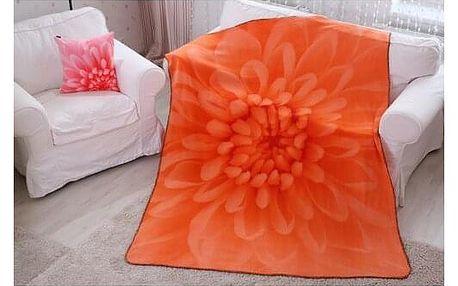 Domarex Deka Harmony oranžová, 150 x 200 cm