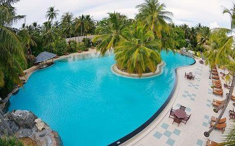 Maledivy - Atol Ari na 10 dní, polopenze s dopravou letecky z Prahy, Atol Ari