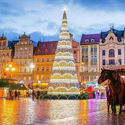 Adventní Vratislav na den: autobusový zájezd