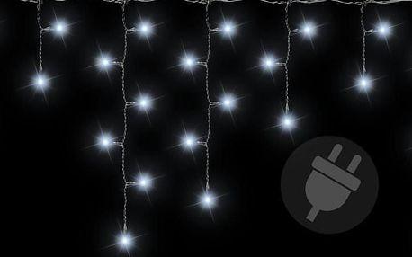 Nexos 38535 Vánoční světelný déšť 400 LED studená bílá - 7,8 m