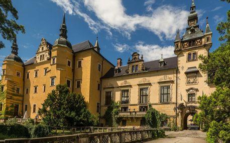 Polský zámek Klickow s neomezeným wellness a polopenzí