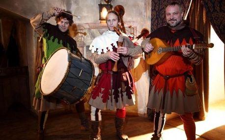 Hostina ve středověké krčmě