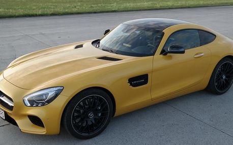 Jízda v Mercedesu AMG GTS V8 Biturbo