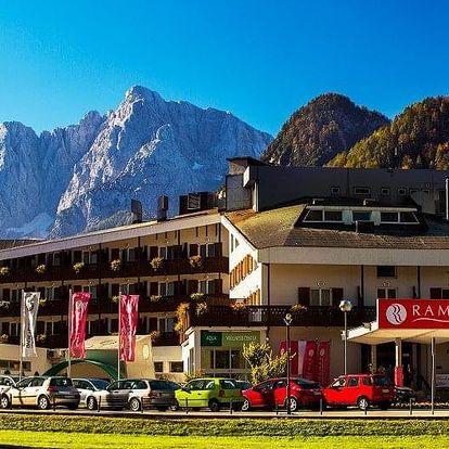 Slovinsko - Kranjska Gora na 4 dny, polopenze