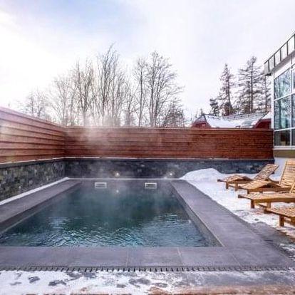 Vysoké Tatry u skiareálu: Hotel Lesana *** s wellness, Kinderlandem a polopenzí