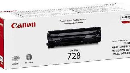 Canon CRG-728, 2,1K stran, originální černá (3500B002)