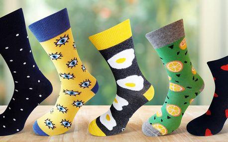 Dámské i pánské ponožky Crazy Socks