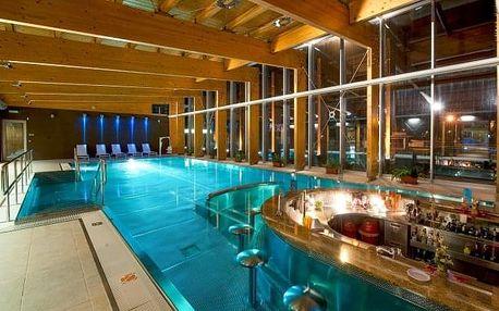 Vysoké Tatry: Hotel Tatranec u ski areálu + polopenze a slevy do aquaparků